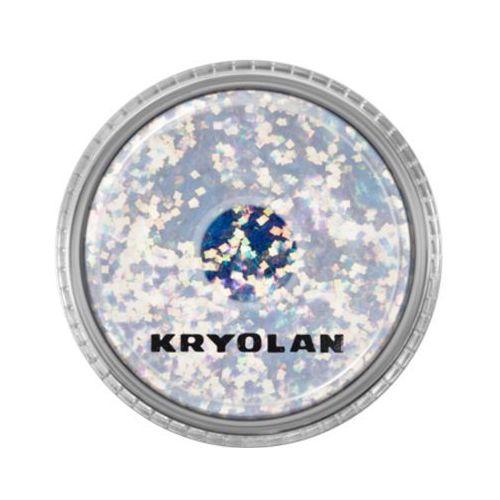 polyester glimmer coarse (pastel blue) gruby sypki brokat - pastel blue (2901) marki Kryolan