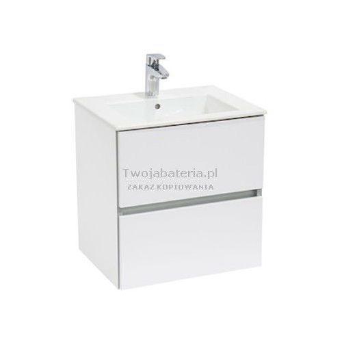 Roca cube zestaw łazienkowy szafka umywalka 65x43 a85119b806