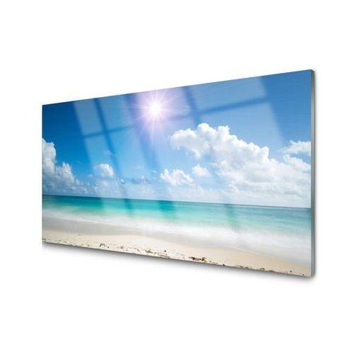 Tulup.pl Panel kuchenny morze plaża słońce krajobraz