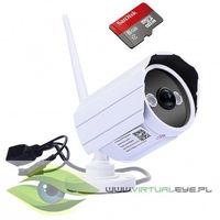 KAMERA IP ZEWNĘTRZNA 720p P2P WIFI HD 8GB ONLINE, 26276