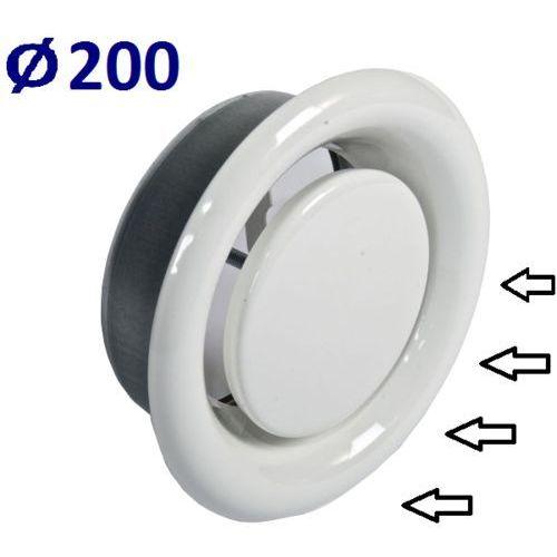 Anemostat Wywiewny Średnice od 100 do 200 Zawór do Wentylacji Wszystkie Średnice Średnica [mm]: 200