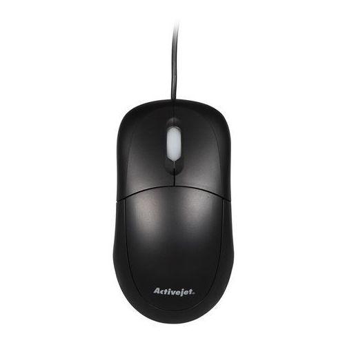Activejet Mysz optyczna amy-146 kolor czarny