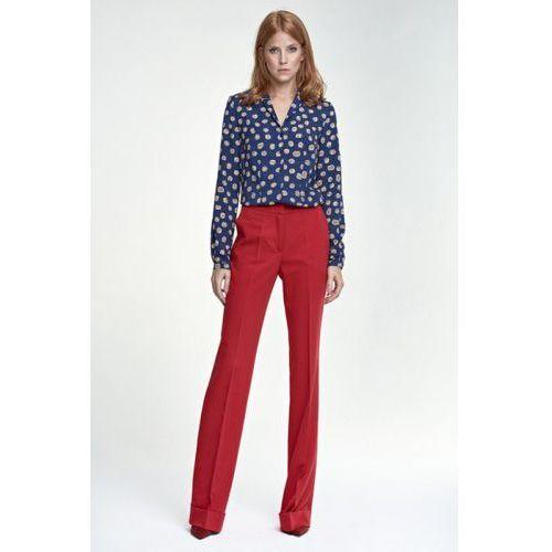 Spodnie z mankietem SD26 czerwony
