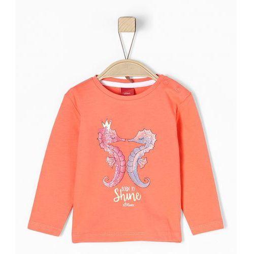 S.oliver red label bluzka z długim rękawem orange (4055268314310)
