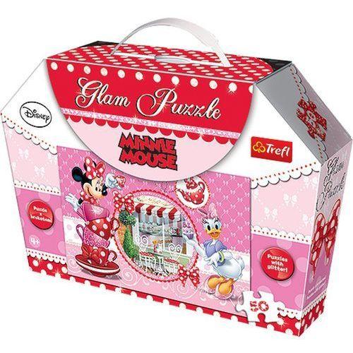 Glam puzzle - minnie mouse  marki Trefl