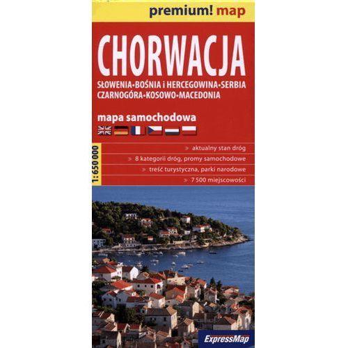 Chorwacja mapa samochodowa 1:650 000 (9788375463187)
