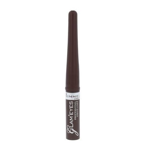 Rimmel London Glam Eyes Liquid Liner 3,5ml W Eyeliner 002 Brown Velvet