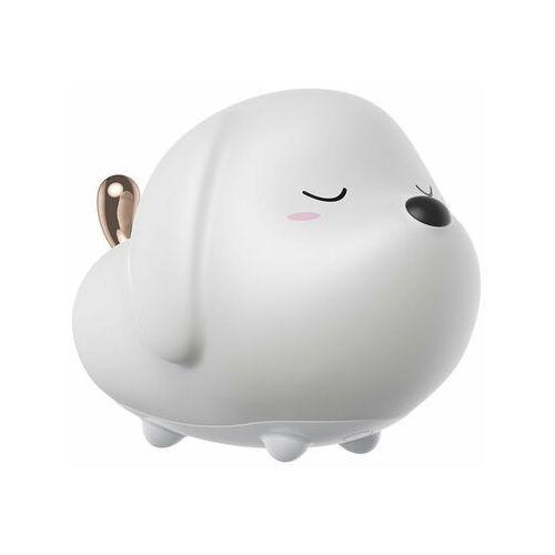cute series   sylikonowa lampka nocna dla dzieci bezprzewodowa led rgb 3 tryby   piesek - piesek marki Baseus