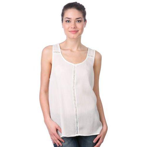 Brave Soul koszulka bez rękawów damska Poppinsr M kremowy, kolor beżowy