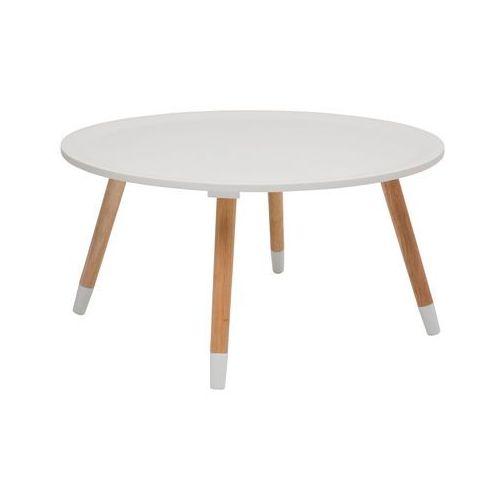 :: stolik kawowy blossom white 70 cm - biały 70cm marki Kare design