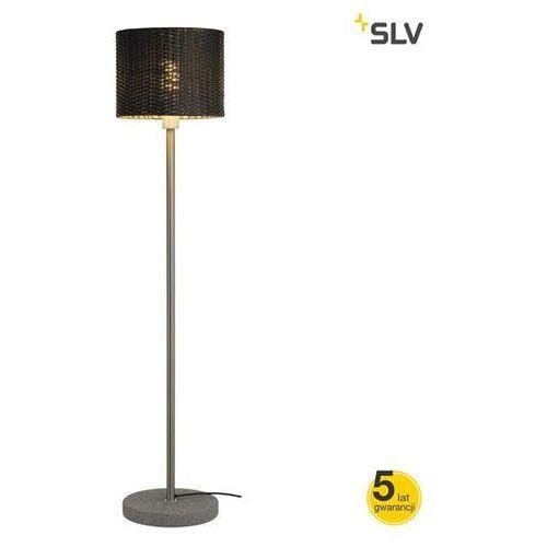 ADEGAN MANILA TL lampa podłogowa rattan PCVantracyt + SST 304 + granit