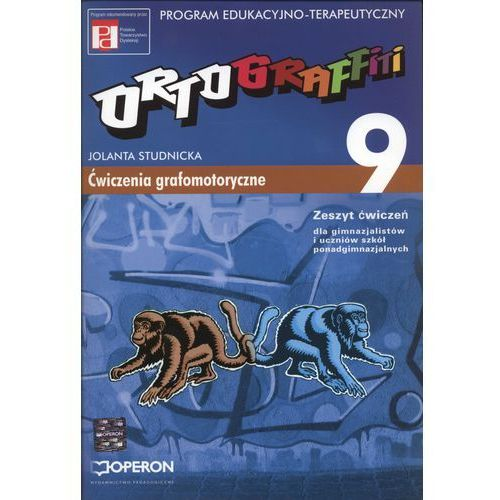 Ortograffiti 9 Zeszyt ćwiczeń Ćwiczenia grafomotoryczne (96 str.)
