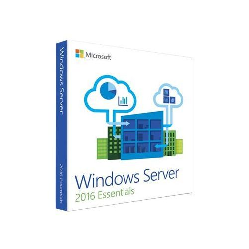 Microsoft Windows server 2016 essentials 32/64 bit