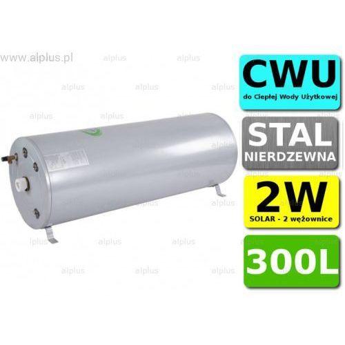 Bojler cyclone 300l poziomy 2w 2-wężownice nierdzewka wymiennik podgrzewacz cwu wysyłka gratis marki Joule