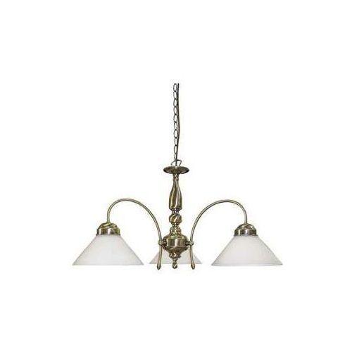 Lampa wisząca zwis oprawa Rabalux Marian 2X60W E27 brązowa 2707, 2707