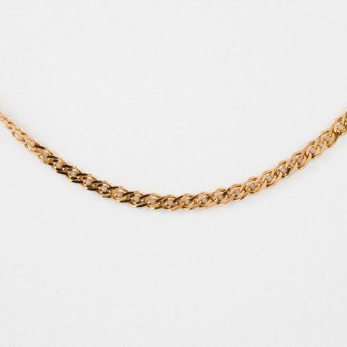 Złoty łańcuszek L970