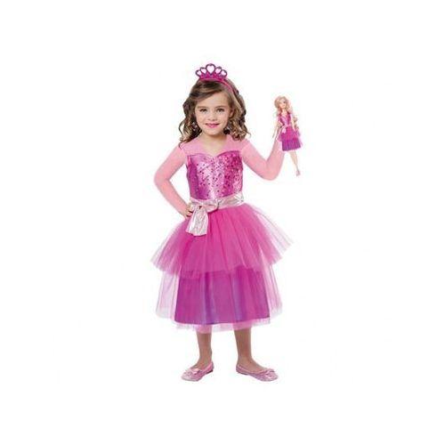 Kostium Księżniczka Barbie dla dziewczynki - 3/5 lat (104)