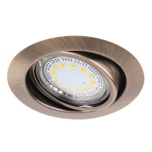 Lampa oprawa sufitowa downlight oczko Rabalux Lite 3x3W LED brązowy 1051 (5998250310510)
