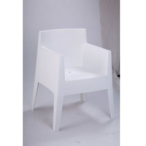 Krzesło kubik box białe marki Domfan design