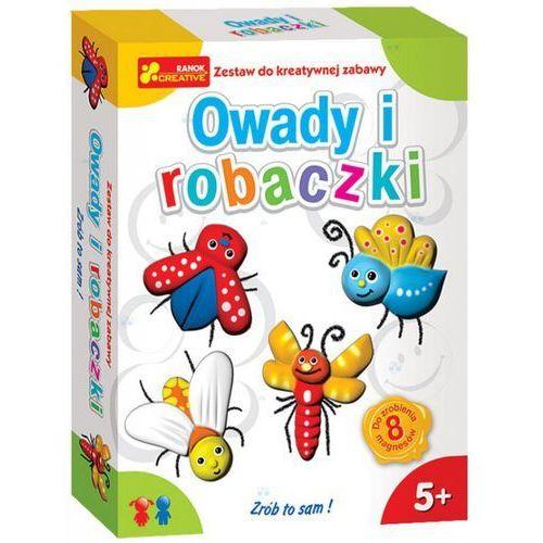 Zestaw do kreatywnej zabawy - Owady i robaczki