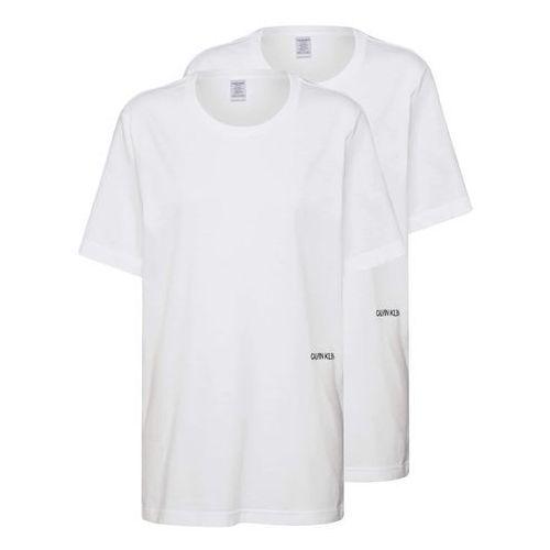koszulka do spania 's/s crew neck 2pk' biały, Calvin klein underwear