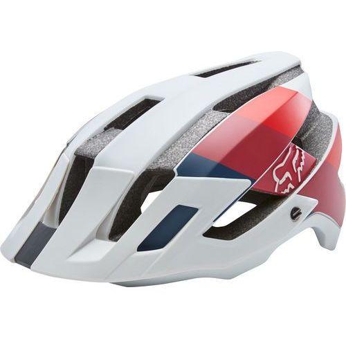 flux drafter kask rowerowy mężczyźni szary/czerwony l/xl | 59-63cm 2018 kaski rowerowe marki Fox