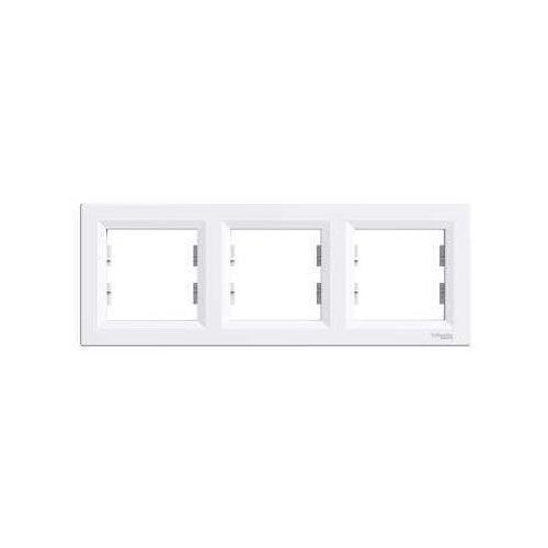 Asfora ramka potrójna pozioma biała eph5800321 marki Schneider
