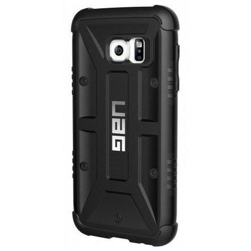 Urban Armor Gear | Pancerne etui dla Samsung Galaxy S7 | Black - Black, kolor czarny