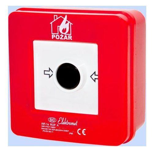 Legrand Elektromet przycisk przeciwpożarowy wp-1s n/t 921400
