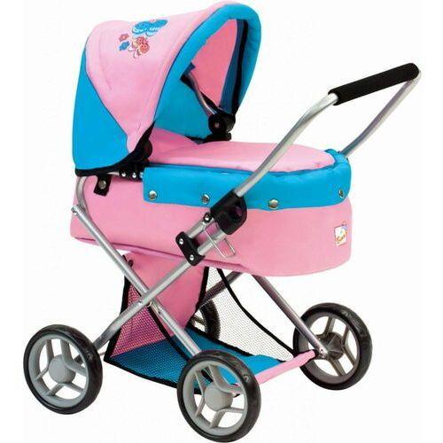 Bino wózek dla lalek z motylkami 82917 (4019359829176)