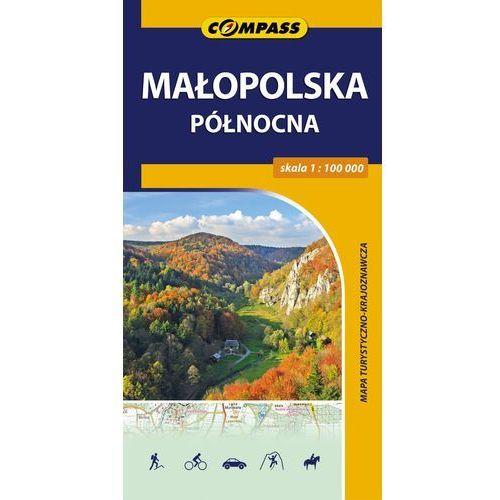 Małopolska Północna mapa turystyczno-krajoznawcza - Dostawa 0 zł (2 str.)