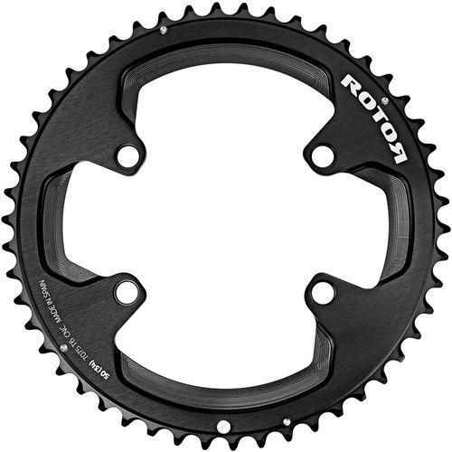 Rotor Aldhu Zębatka rowerowa 110x4 zew. okrągła czarny 52 zębów 2018 Zębatki przednie (8434366009421)