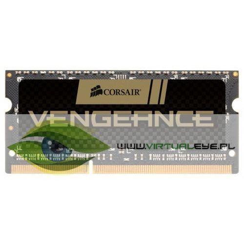 Corsair pamięć ddr3 sodimm vengeance 16gb/1600 (2*8gb) cl10-10-10-27 (0843591016971)
