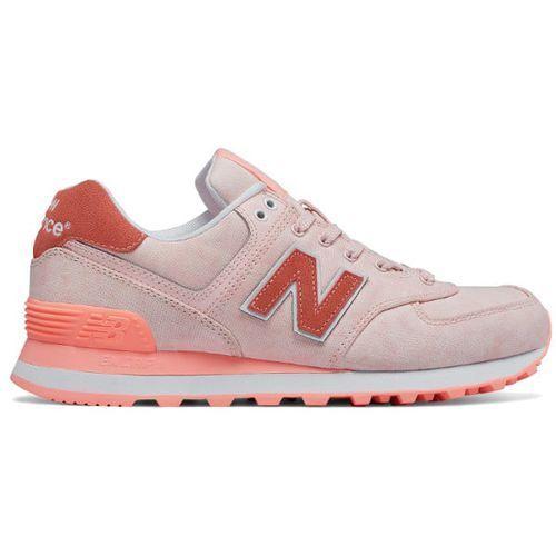 Buty New Balance WL574SWA, kolor różowy