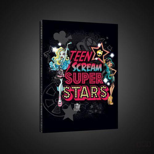 Obraz MONSTER HIGH - TEEN SCREAM SUPER STARS PPD1616 z kategorii Pozostałe do pokoju dziecięcego