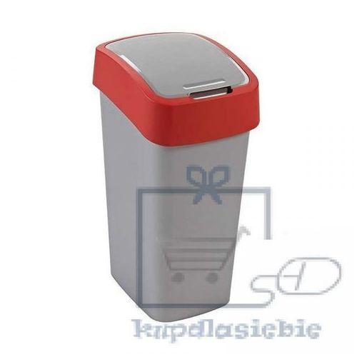 Kosz do segregacji śmieci FLIP BIN 50l czerwony, 02172-547-00