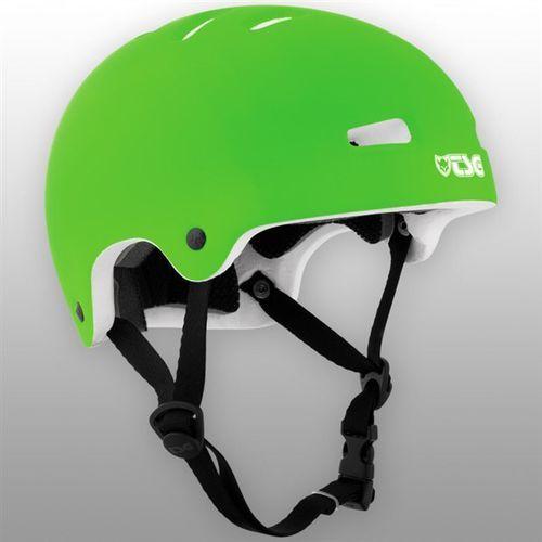 kask TSG - Nipper Mini Solid Color Flat Lime Green (385) rozmiar: XXS/XS