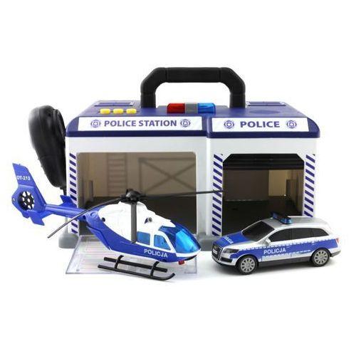 Dickie policja baza sos policyjna w walizce z mikrofonem światło dźwięk marki Dickie toys