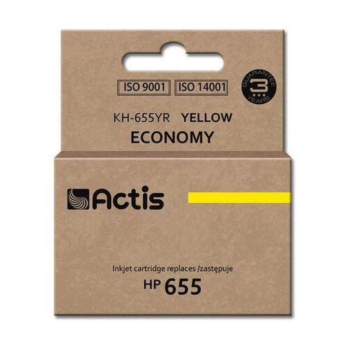 Actis Tusz żółty do hp deskjet ink advantage 3525 4615 4625 5525 6525 - zamiennik cz112ae 12ml, kategoria: tusze