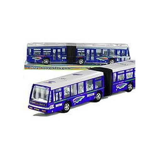 Autobus przegubowy friction duży 41,5 cm niebieski (1818810948226)