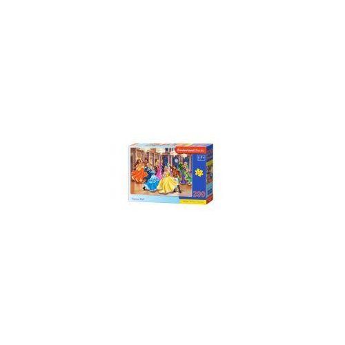 Puzzle 200 elementów - bal księżniczek - poznań, hiperszybka wysyłka od 5,99zł! marki Castor