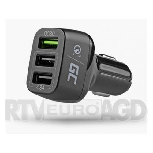 Green Cell Ładowarka 3 USB z Quick Charge 3.0, CAD34