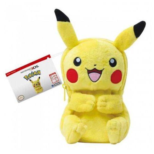 Etui na konsolę new nintendo 3ds xl pikachu plush pouch marki Hori