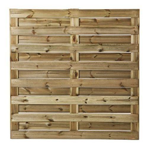 Płot drewniany GoodHome Neva pełny 179 x 179 cm, FEN19_WP0049B