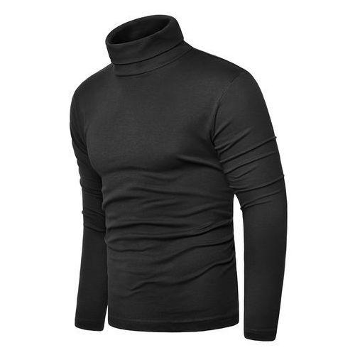 Bluza golf męski cmr6059 - czarny marki Risardi