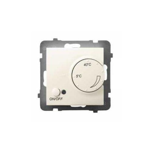 Ospel Regulator temperatury rtp-1un/m/27 z czujnikiem napowietrznym aria ecru (5907577492465)