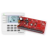Prima12set zestaw centrali alarmowej prima 12 z manipulatorem lcd marki Genevo