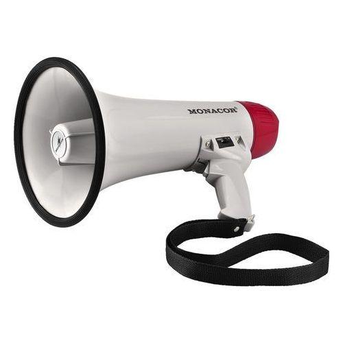 MONACOR TM-11 - megafon, 15W mocy max