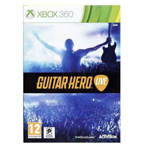 OKAZJA - Guitar Hero Live + gitara (Xbox 360)