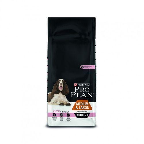 pro plan adult 7+ medium/large sensitive skin 3kg marki Purina